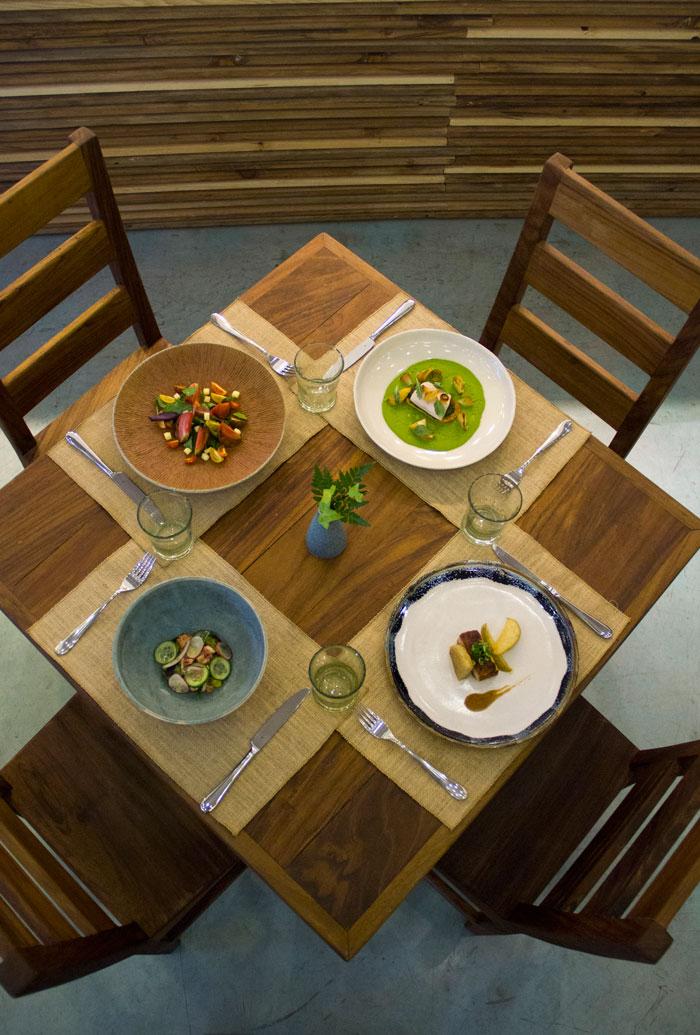 Restaurant Allium Menu